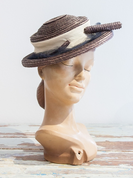 1900s Reed Summer Hat