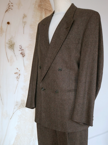 50s Botto Giuseppe Wool Suit