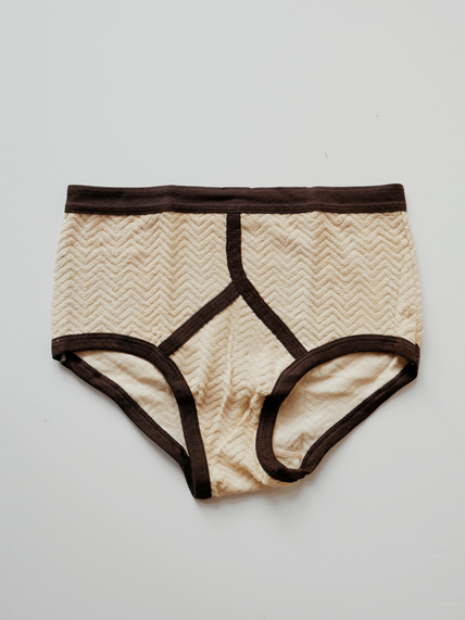 60s Yellow Terry Underwear